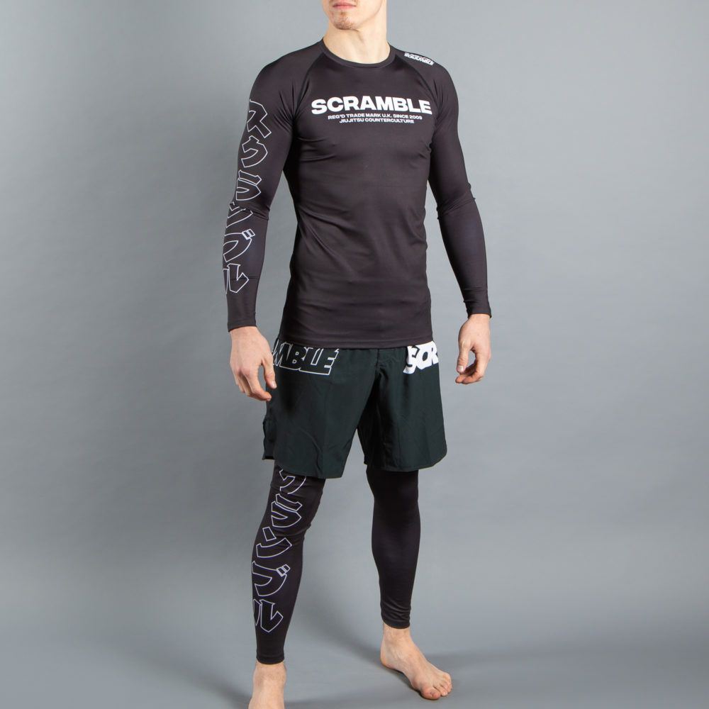 Scramble BASE Rashguard - Black