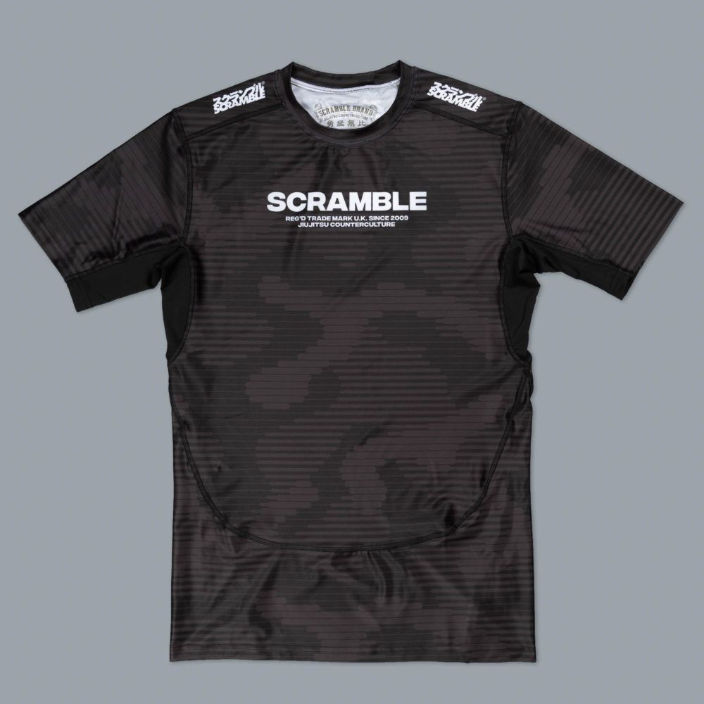 Scramble Tactic Rashguard - Black