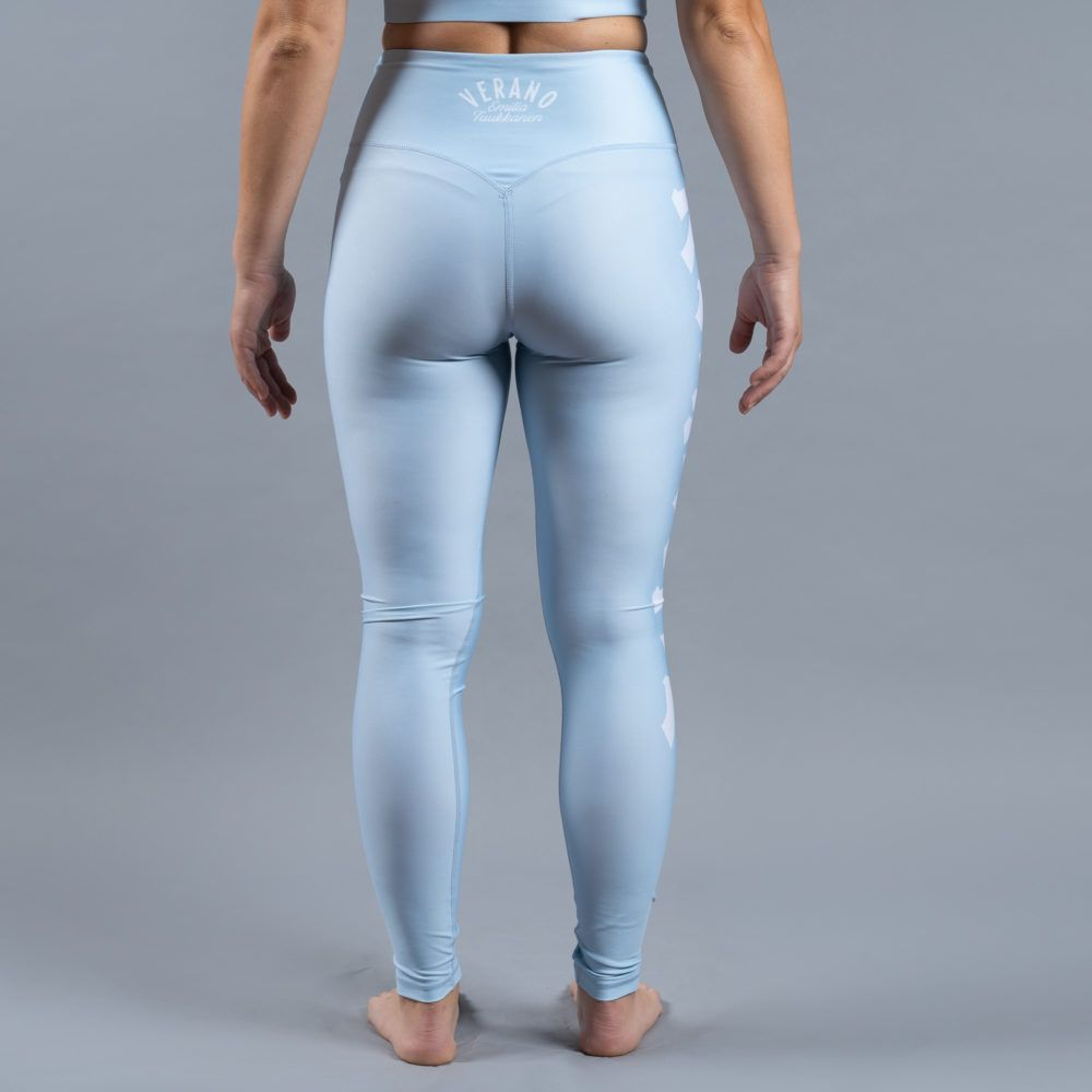 Scramble Verano Sports Leggings - Blue
