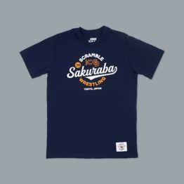 KS x Scramble Wrestling Tee - Navy