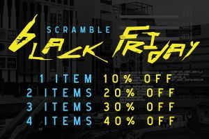 Scramble black Friday 2020