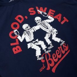 Scramble Blood, Sweat and Beers T-Shirt