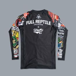 "Scramble x Full Reptile Collective ""L228"" Rashguard"